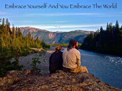 embrace       god