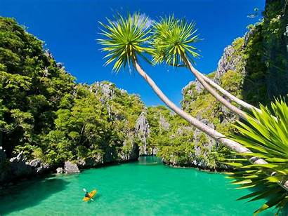 Philippines Ocean Tropical Island Pacific Palawan Wallpapers13