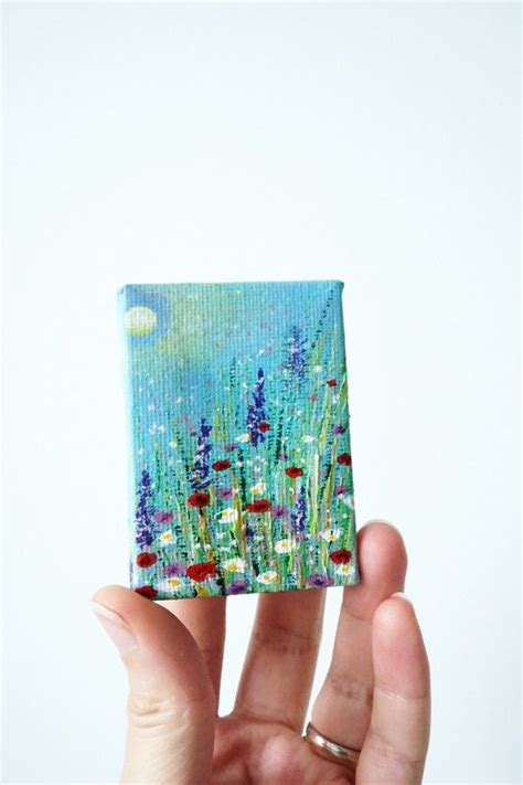 small paintings  canvas mini canvas   small art