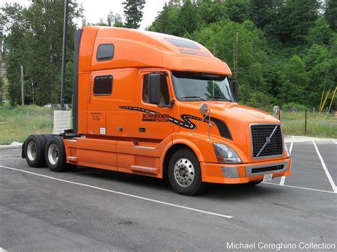 Schneider National Volvo VNL780, Truck 58526   Brand new ...