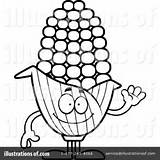 Corn Clipart Outline Cory Thoman Clipartmag sketch template