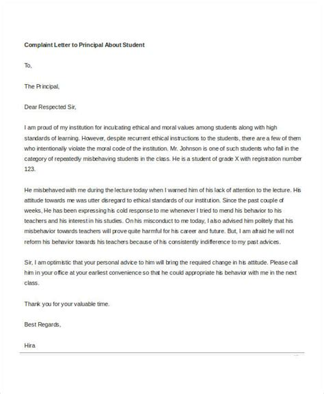 complaint letter templates  word   word