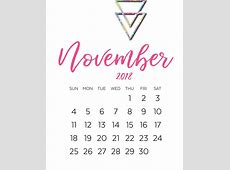 2018 Calligraphy Calendar Printable Latest Calendar