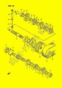 Transmission  Model G  J  K  L Ls650pm E01  For Suzuki Savage