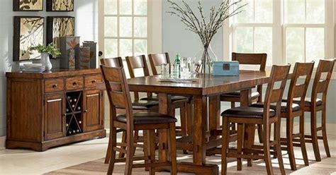 mission style dining room set mission style dining room set mission style pinterest dark furniture dining room sets and