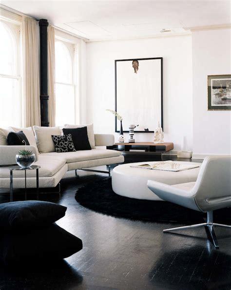 white sectional sofa contemporary living room erinn