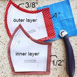 face mask pattern  sewing pattern  sewing