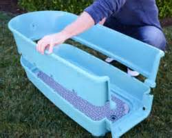 How To Clean Plastic Bathtub by Portable Pet Grooming Supplies Shampoo Table On Sale