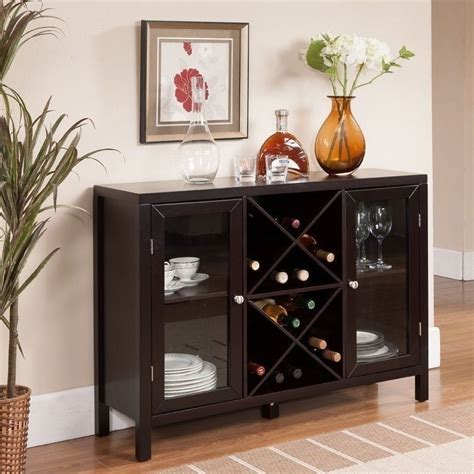 wine and liquor cabinet new bar storage holds 16 bottles wine rack wooden