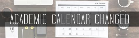 academic calendar changed sugar salem school district