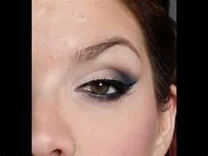 Maquillage Yeux Tuto : tuto maquillage yeux n 4 oeil de chat smokey youtube ~ Nature-et-papiers.com Idées de Décoration