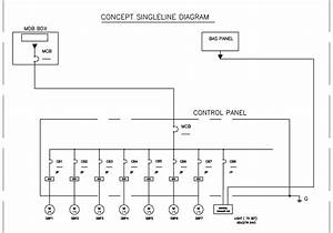 Concept Single Line Diagram   U0e27 U0e07 U0e08 U0e23 U0e40 U0e2a U0e49 U0e19 U0e40 U0e14 U0e35 U0e48 U0e22 U0e27