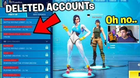 antisnow  deleting everyones fortnite accounts july