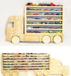 wooden truck hanging storage shelf  hot wheels