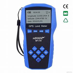 High Quality Nf 178 Handheld Gps Test Devices Land