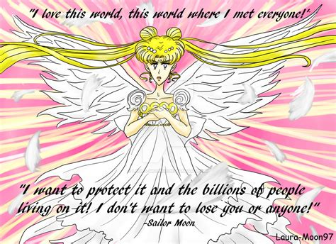 Sailor Moon Quotes Sailor Moon Quote By Moon97 On Deviantart