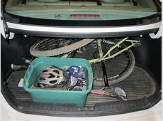 How to fit your bike in the trunk of your Optima