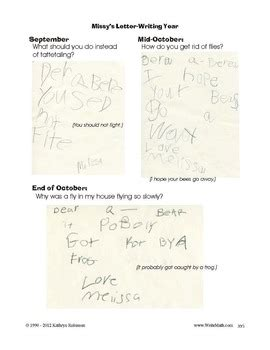 how to write a friendly letter kindergarten 1st 2nd grade writing