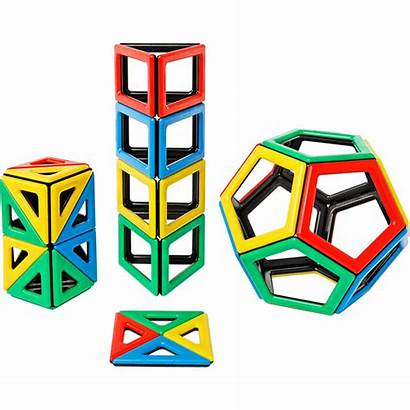 Polydron Magnetic Shapes Shape Toys Extra Pentagon