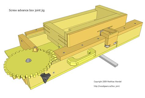 screw advance box joint jig plans