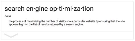 search engine optimization definition search engine optimization ranking wesley