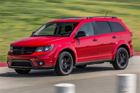 Dodge Journeys by 2017 Dodge Journey Gt Awd Blacktop Test Motor Trend