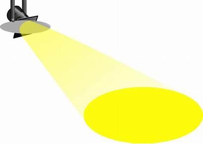 Spotlight Cartoon Clipart Clip Transparent Clker Clipground