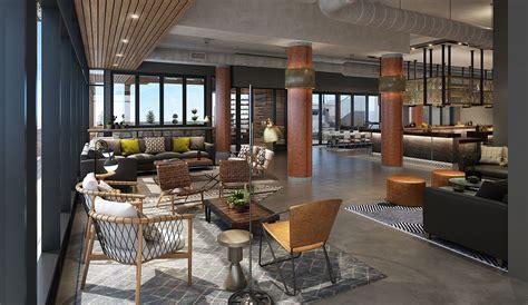 moxy hotel interior design johnson nathan strohe