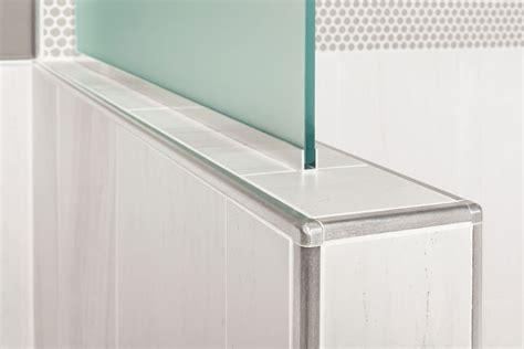 schluter rondec edging  wall corners