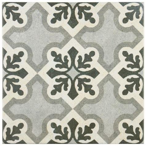 9 x 9 ceramic tiles merola tile vintage ruzafa 9 3 4 in x 9 3 4 in porcelain