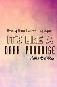 Lana Del Rey - Dark Paradise iPhone 4 - image #1744033 by ...