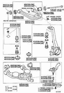 2000 Toyota Tundra Suspension Ball Joint  Left  Right