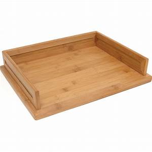 Bamboo letter tray in paper trays for Bamboo letter tray