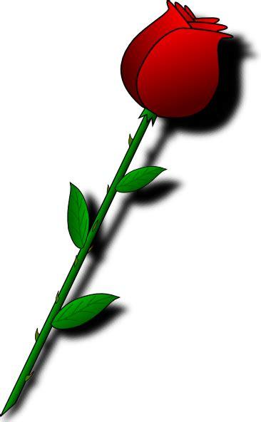 rose red flower clip art  clkercom vector clip art