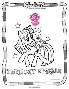 Twilight Sparkle Coloring Page My Little Pony Pinterest