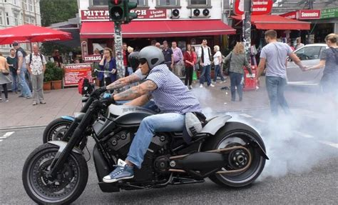 Performed By V-rods And A Sportster