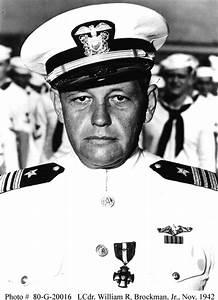 William Herman Brockman, Jr., Rear Admiral, United States Navy