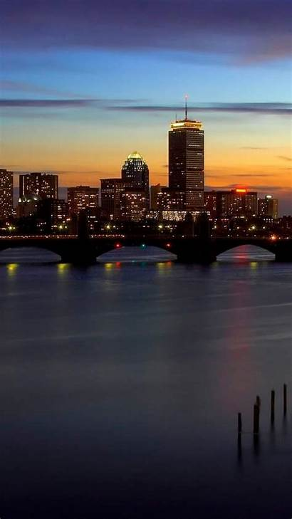 Skylines Cityscapes Boston Mobile