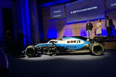 rokit williams racing  team signs title sponsorship