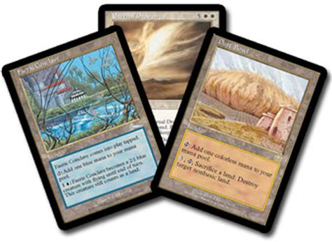 Land Deck Legacy by 2005 Legacy Chionship Magic The Gathering