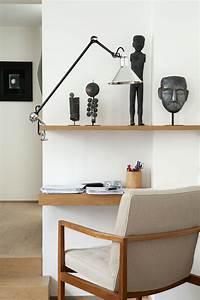 Lampe D Architecte : lampe d 39 architecte n 201 base tau lampe gras abat jour noir bras noir dcw ditions ~ Teatrodelosmanantiales.com Idées de Décoration