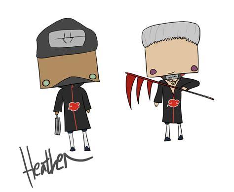 Chibi Kakuzu And Hidan By The-sock-ninja On Deviantart