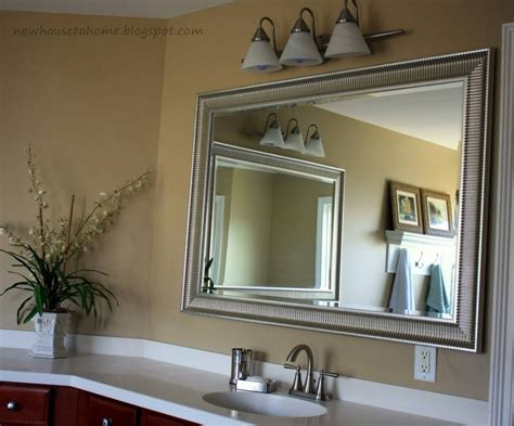 mirror in bathroom ideas 15 collection of frames for bathroom wall mirrors 19491