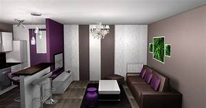 deco salle a manger aubergine With salle a manger decoration interieur