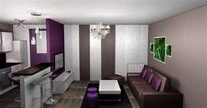 decoration salle a manger marron With salle a manger marron