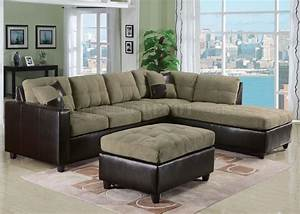 51335 milano reversible sectional sofa by acme w options With milano reversible sectional sofa