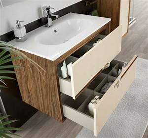 Waschtische Für Badezimmer : waschbecken mit unterschrank ~ Michelbontemps.com Haus und Dekorationen