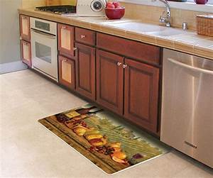 Decorative Kitchen Floor Mat For Sink Or Stove - Stain Proof