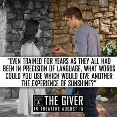 What Is Another Word For Experience On A Resume by The Giver Quotes On The Giver And Number The