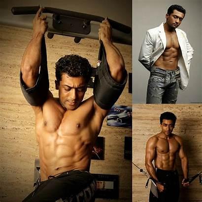 Surya Six Pack Building Tamil Actor Bodybuilding